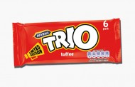United Biscuits relaunches retro chocolate bar brand Trio
