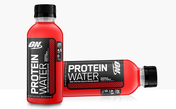 Optimum Nutrition develops line of protein-infused waters