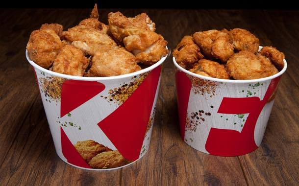 Packaging manufacturer develops plastic-free food bucket for KFC