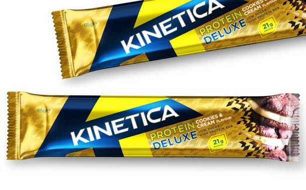 Kinetica Sports launches new range of healthy protein bars