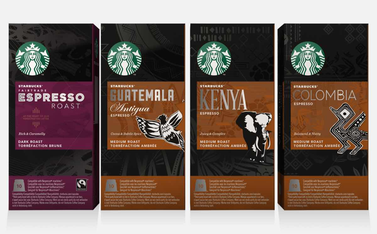 Starbucks to launch Nespresso-compatible espresso pod ...