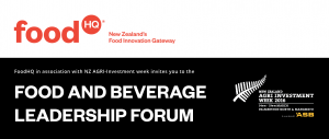 Food and Beverage Leadership Forum @ ASB Event Centre, Manfeild | New Zealand