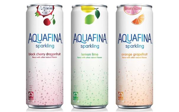 Aquafina introduces line of flavoured sparkling waters