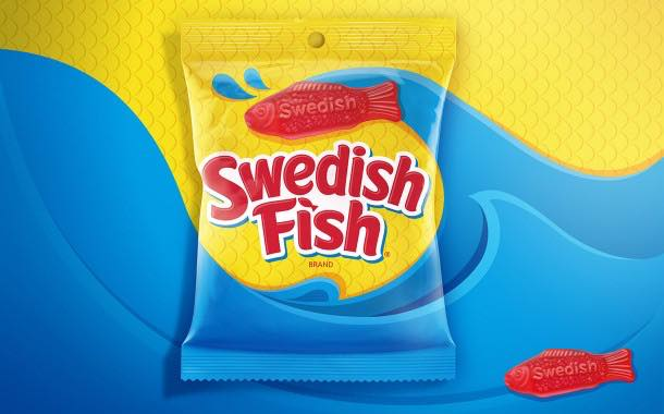 Mondelēz International refreshes look of Swedish Fish candy brand