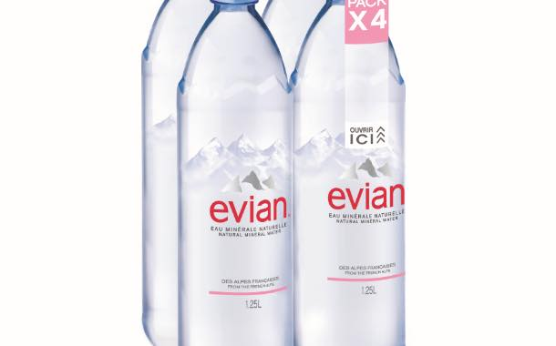 NMP Systems partners with Evian to roll out new pack technology