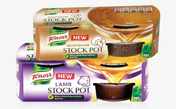 Knorr adds lamb and mushroom flavours to range of stock pots