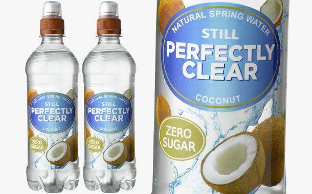 Flavoured water brand Perfectly Clear adds new coconut flavour