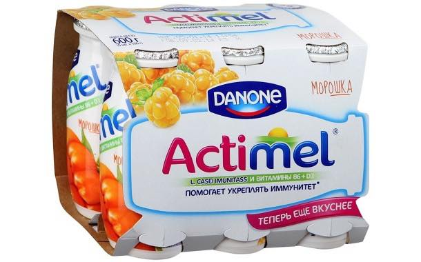 Danone adds cloudberry flavour to Actimel range in Russia