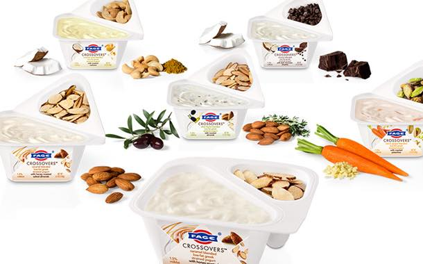Fage USA launches series of sweet and savoury dual-compartment yogurts