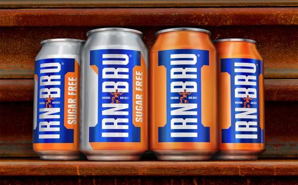 Irn-Bru 'goes back to its heritage' by launching new brand identity