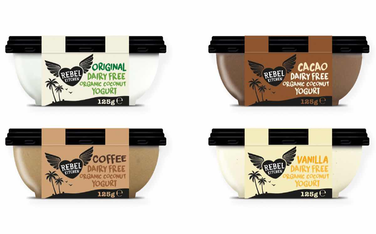 rebel kitchen launches yogurts made from green coconuts - Rebel Kitchen