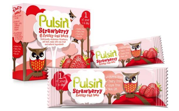 Pulsin' enters children's market with range of healthy oat bars