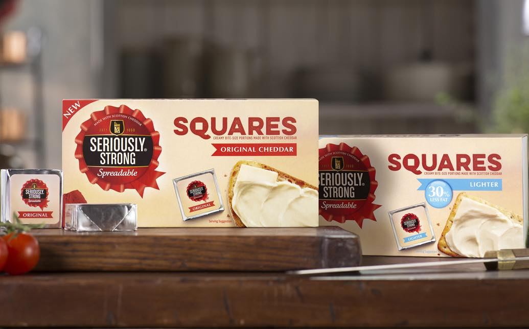 Seriously Strong gives 'serious shake-up' to spreadable cheeses