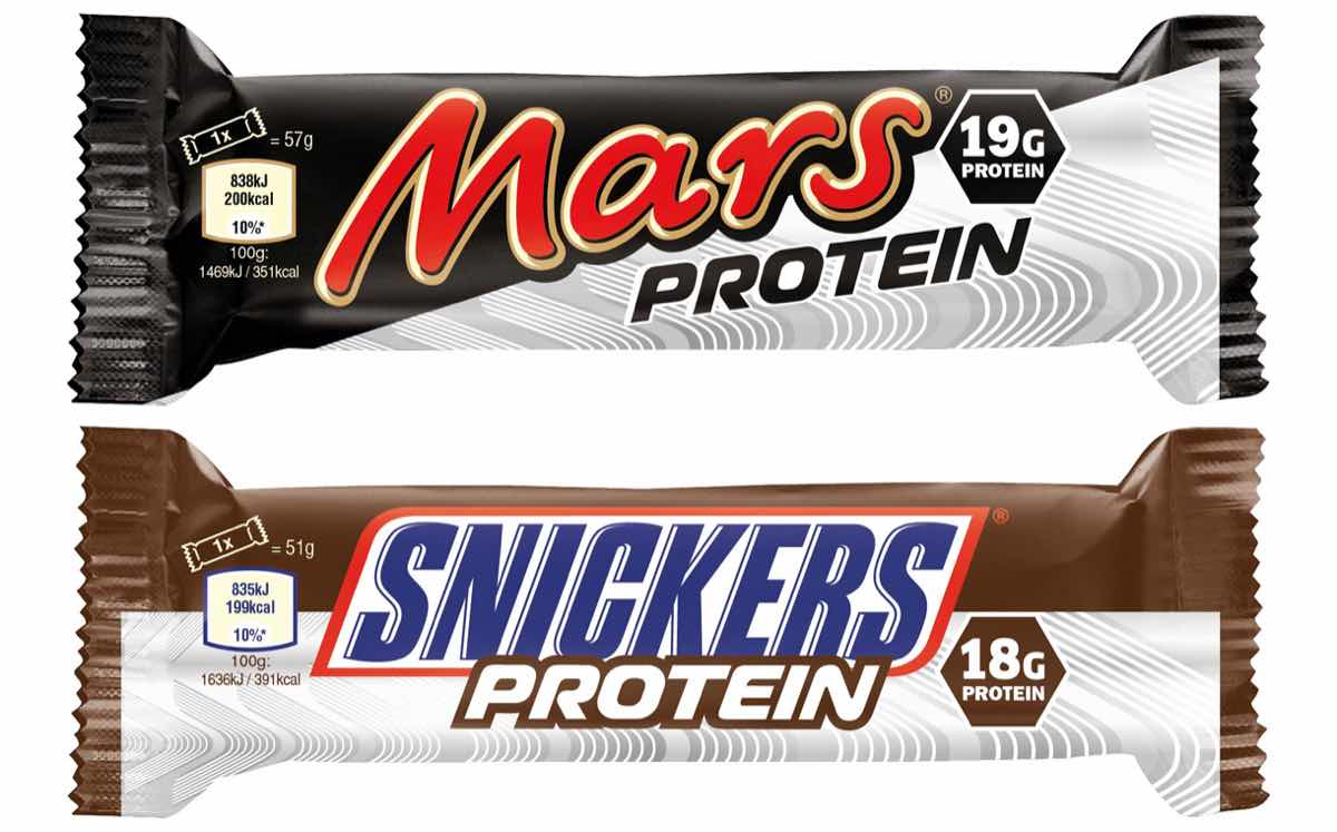Mars launches new protein bars under Mars and Snickers brands