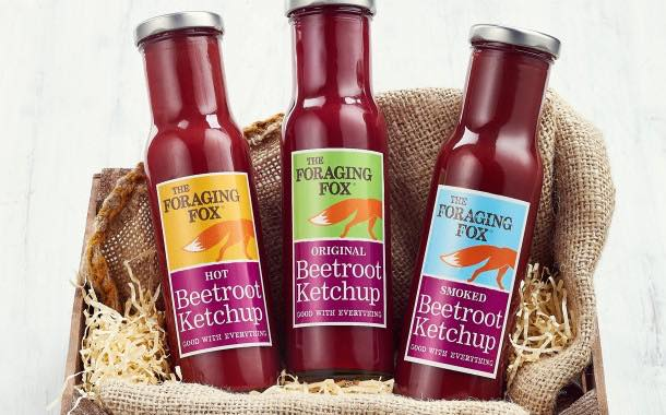 The Foraging Fox adds third instalment of beetroot ketchup