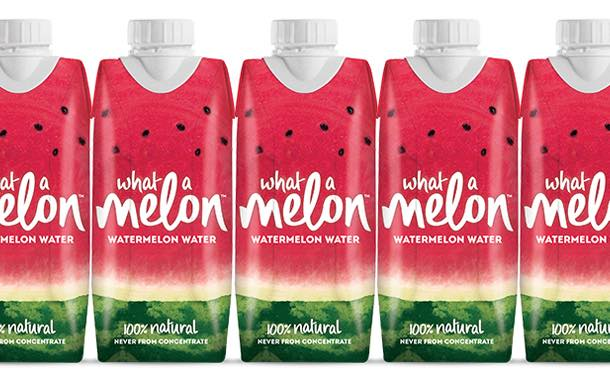 Watermelon water brand What a Melon launches in the UK