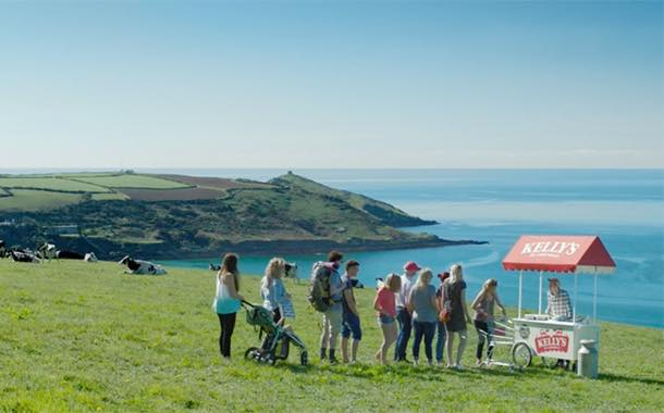 Ice cream brand Kelly's to debut 'first TV advert' in Cornish