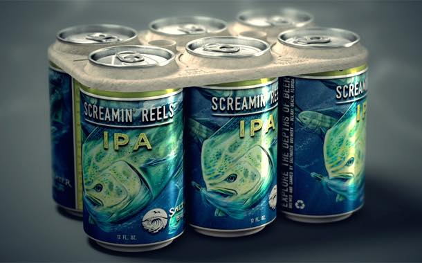 Florida brewery creates six-pack beer rings edible to animals