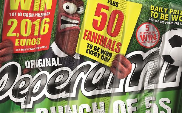 Meat snack brand Peperami in new on-pack Euros promotion