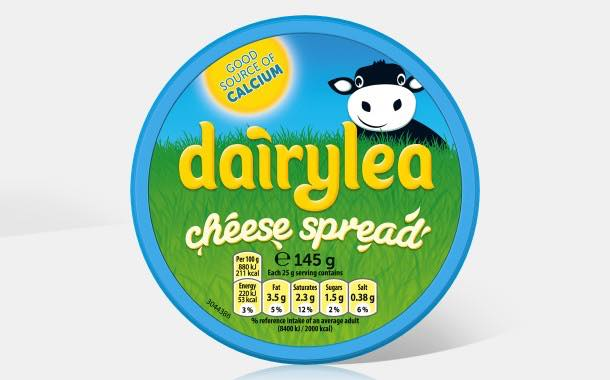Dairylea redesigns packaging to reflect 'source of calcium' claim