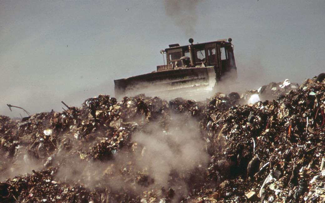 The Fresh Kills landfill site was once the largest man-made structure on earth.