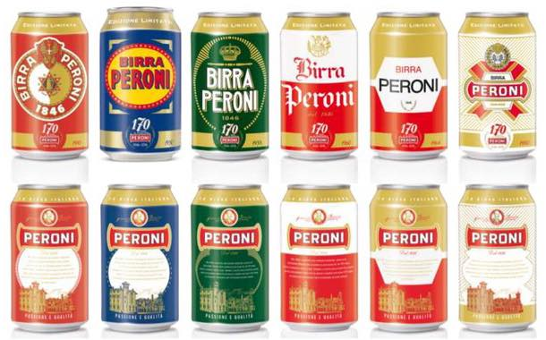 Peroni celebrates 170th year with series of historical can labels