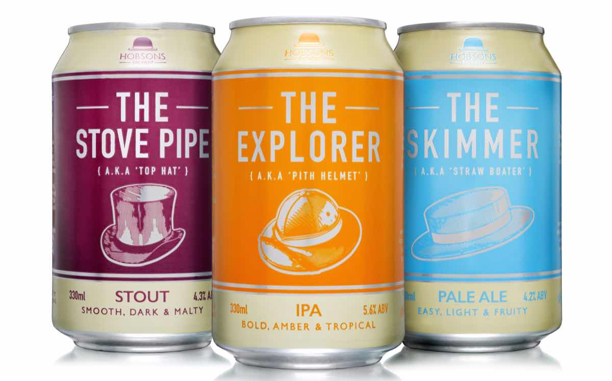 Rexam partners with craft brewer Hobsons on range of beer cans