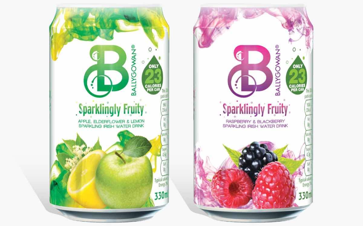 Crown teams up with Ballygowan to create cans for its new drinks