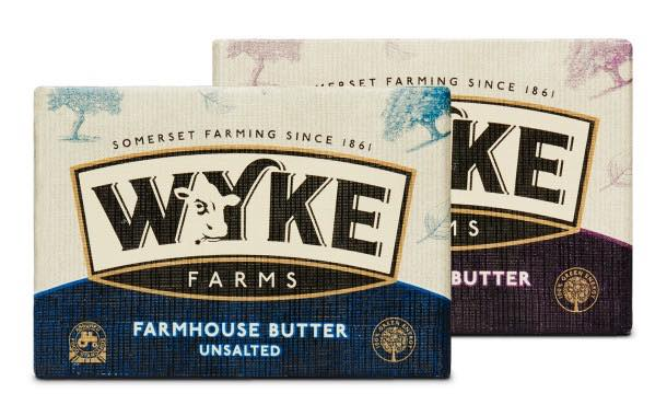 Wyke Farms unveils new design for its premium range of butters