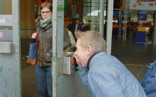 Valio campaign follows one man's quest to lick Europe's dirtiest places