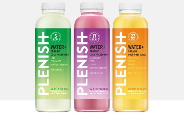 Plenish launches probiotic waters in 'first outside of dairy category'