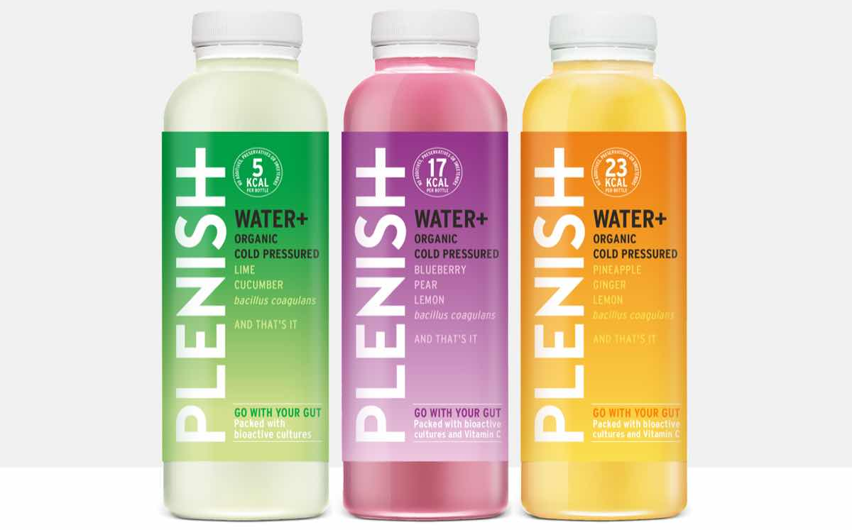 Plenish Launches Probiotic Waters In First Outside Of