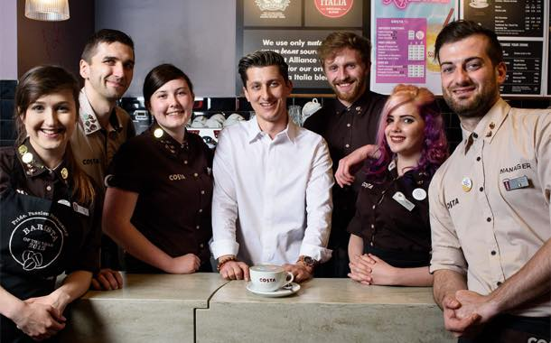 The coffees will celebrate diversity within Costa and show support for pride. © Richard Eaton