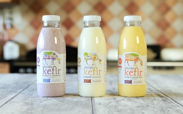 Founders of Yorvale ice cream launch range of flavoured kefir