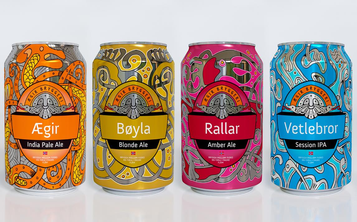 Crown helps Norwegian brewery Ægir with switch to metal cans