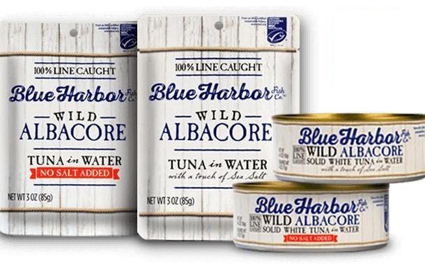 Blue Harbor Fish Co debuts new brand of sustainable wild tuna