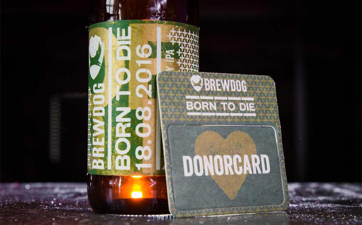 BrewDog's latest beer urges fans to join organ donation register