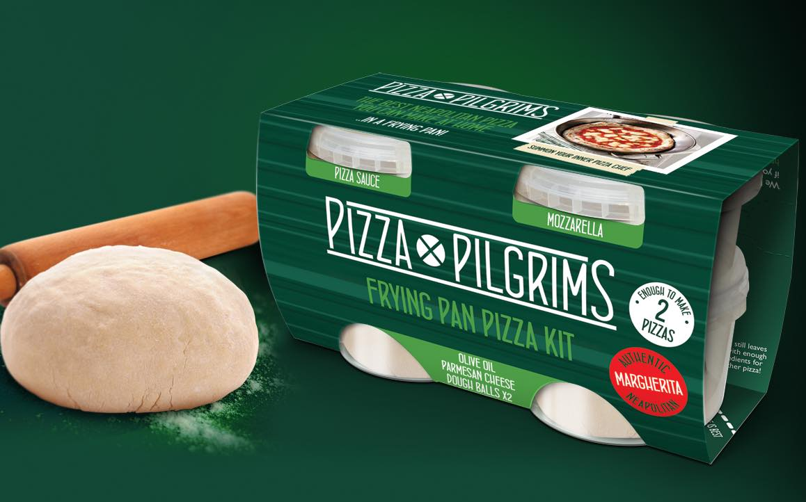 Pizza Pilgrims introduces new 'fry at home' pizza kits in the UK