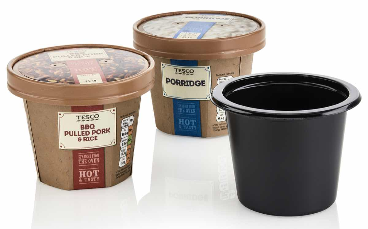 faerch plast and colpac develop pots for tesco food to go. Black Bedroom Furniture Sets. Home Design Ideas