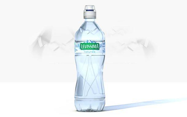 Italian bottled water brand Levissima debuts 750ml bottle
