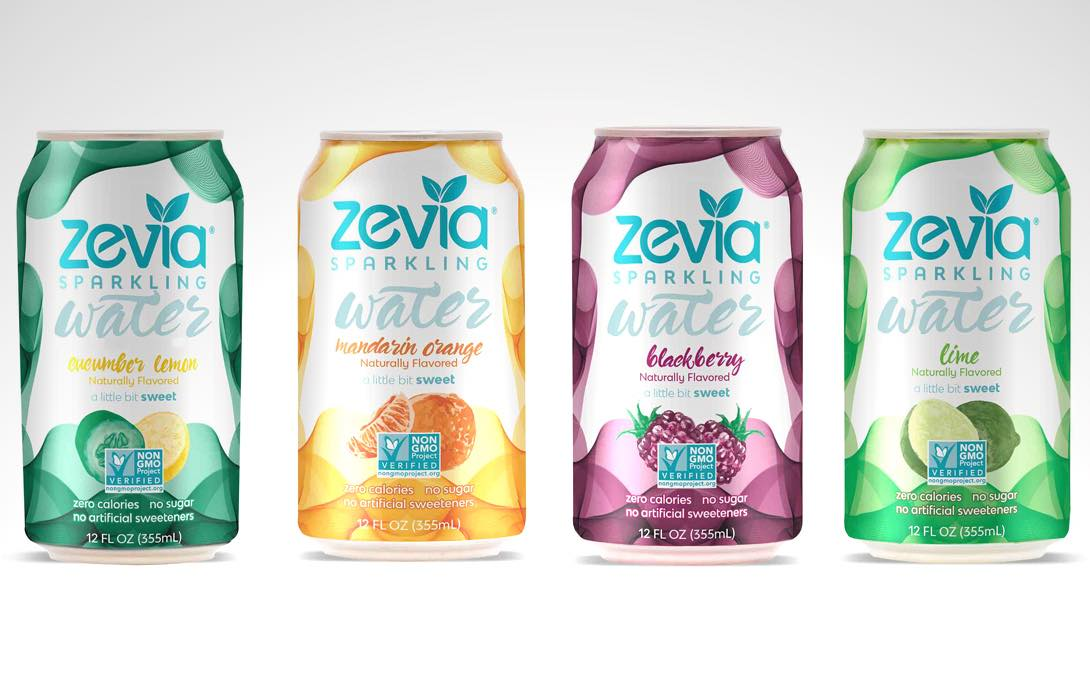 Zevia Branches Out Into Energy Drinks And Sparkling Water