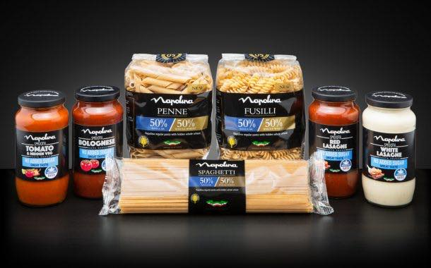 Napolina launches added sugar-free sauces and 50-50 pasta