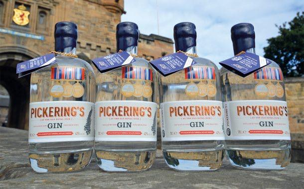 Pickering's Gin launches limited-edition bottles for military tattoo