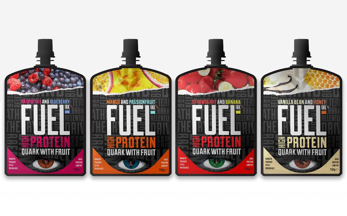 Fuel10K adds ambient quark with fruit to UK breakfast category