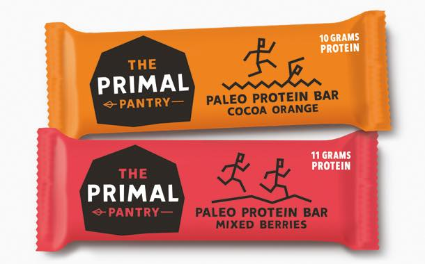 Snack bar brand Primal Pantry launches natural protein bars