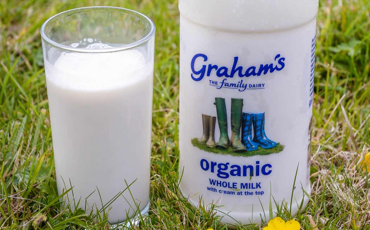 Graham S Adds New Organic Whole Milk With Cream On Top