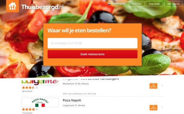 Just Eat sells Belgian and Dutch businesses to rival for €22.5m