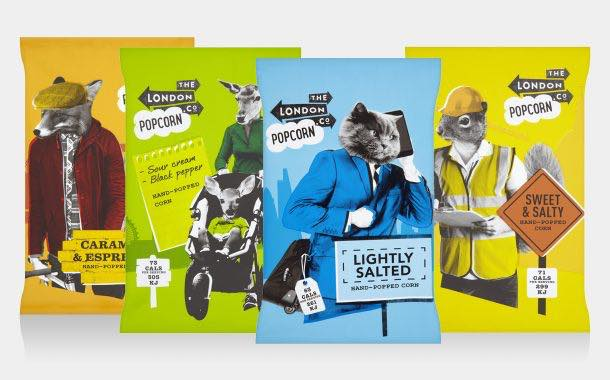 London Crisp Co moves into popcorn with four new additions