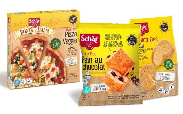 Schär rolls out line of new gluten-free snack products in the UK