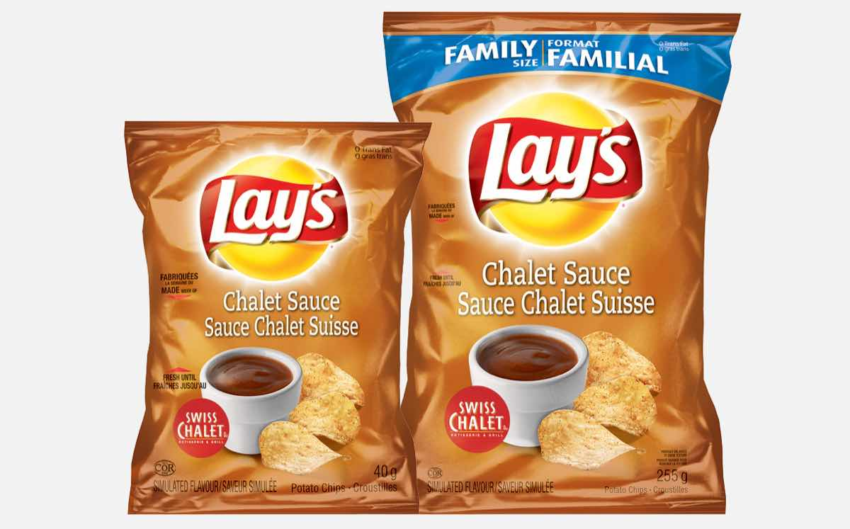 Lay S And Swiss Chalet Create Uniquely Canadian Potato